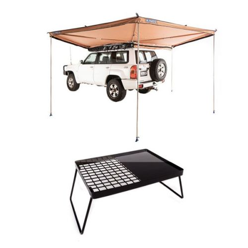 Adventure Kings 270° King Wing Awning + Essential BBQ Plate