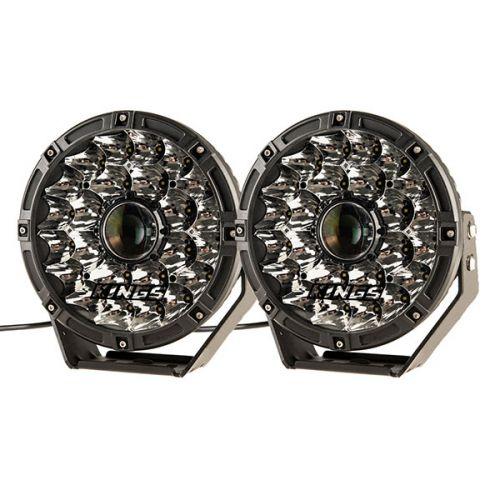 "Adventure Kings 8.5"" Laser Driving Lights (pair) | 1 Lux @ 1709m | 2-Year Warranty"