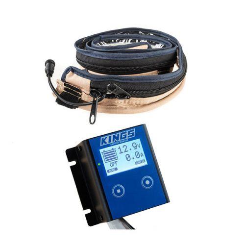 Kings 12V Battery Monitor + LED Strip Light