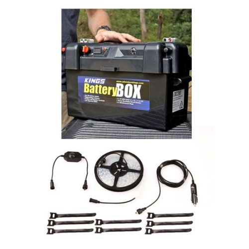 Kings Maxi Battery Box + 4m MAX LED Strip Light