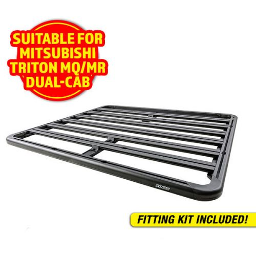 Adventure Kings Aluminium Platform Roof Rack Suitable for Mitsubishi Triton MQ-MR Dual-Cab 2015+