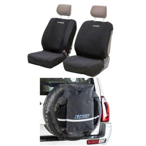 Kings Premium 48L Dirty Gear Bag + Neoprene Front Seat Covers