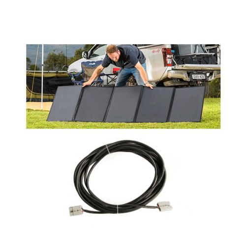Adventure Kings 250W Solar Blanket + 10m Lead For Solar Panel Extension
