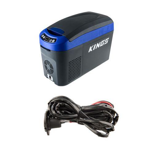 Adventure Kings 15L Centre Console Fridge/Freezer + 12V Fridge Wiring Kit
