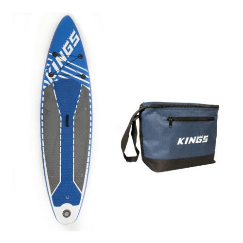 Adventure Kings Inflatable Stand-Up Paddle Board + Adventure Kings Cooler Bag