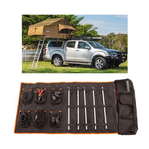 Adventure Kings Roof Top Tent + Adventure Kings Complete 5 Bar Camp Light Kit