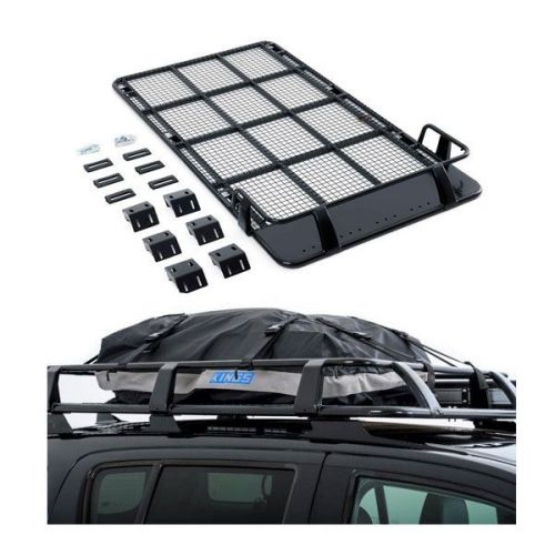 Roof Top Tent Racks + Half-Length Premium Waterproof Rooftop Bag