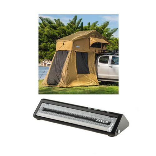 Adventure Kings Roof Top Tent + 4-man Annex + Vacuum Sealer