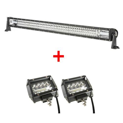 """Adventure Kings Domin8r 42"""" LED Light Bar + 4"""" LED Light Bar"""