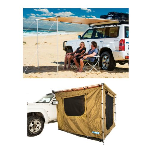 Adventure Kings 2 x 2.5m Awning Tent + Adventure Kings Awning 2x2.5m