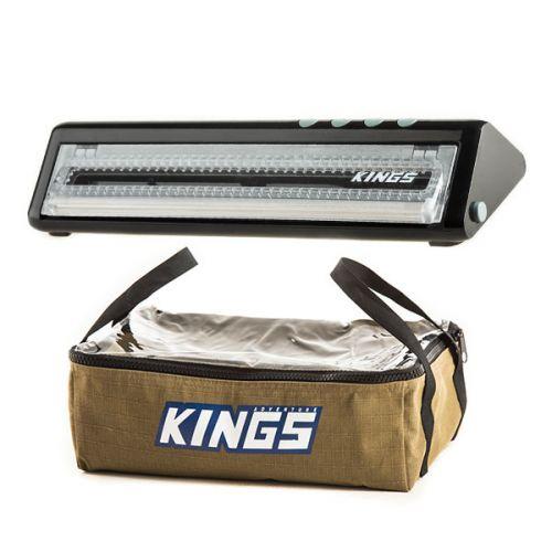 Adventure Kings Clear Top Canvas Bag + Vacuum Sealer