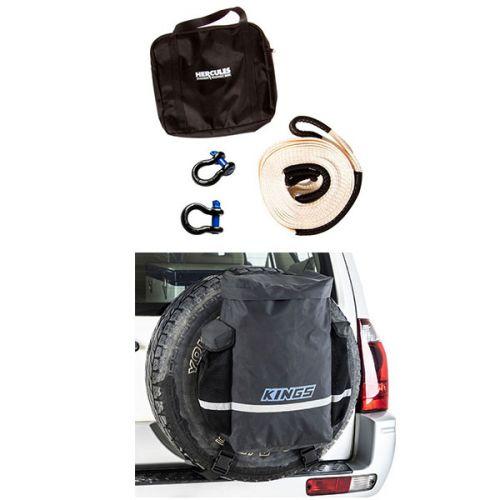Kings Premium 48L Dirty Gear Bag + Hercules Snatch Strap Kit