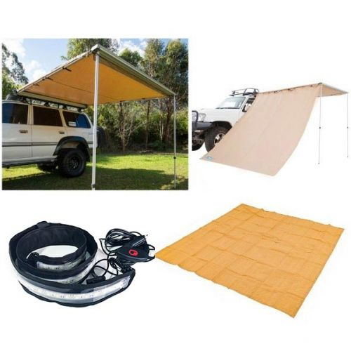 Supa Awning Starter Pack with 2.5x2.5m Awning