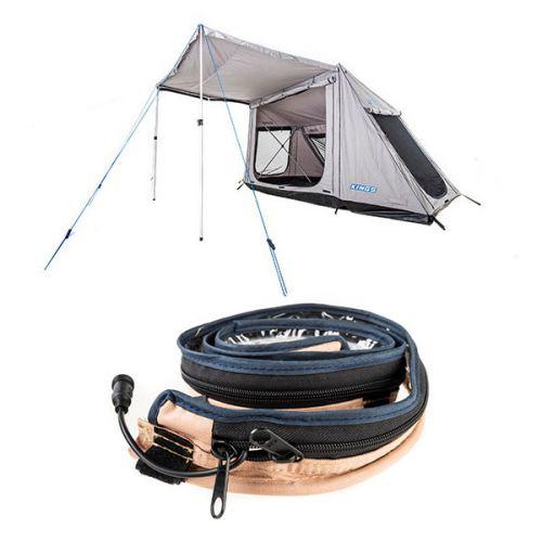 Adventure Kings Swift 5-person Tent + Adventure Kings LED Strip Light