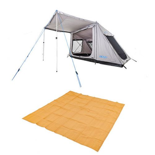 Adventure Kings Swift 5-person Tent + Mesh Flooring 3m x 3m
