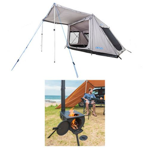 Adventure Kings Swift 5-person Tent + Adventure Kings Camp Oven/Stove