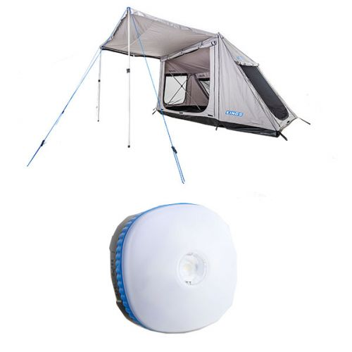 Adventure Kings Swift 5-person Tent + Adventure Kings Mini Lantern