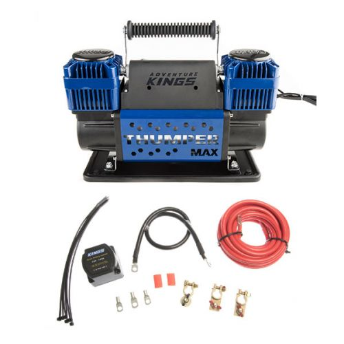 Thumper Max Dual Air Compressor + Adventure Kings Dual Battery System