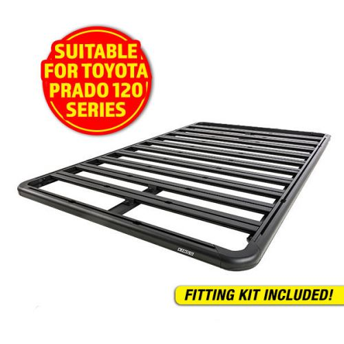 Adventure Kings Aluminium Platform Roof Rack Suitable for Toyota Prado 120 Series 2002-2009