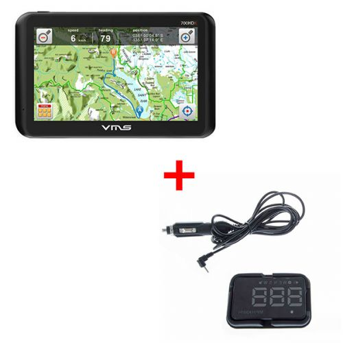 Adventure Kings Heads Up Display (HUD) + VMS Touring 700 HDX