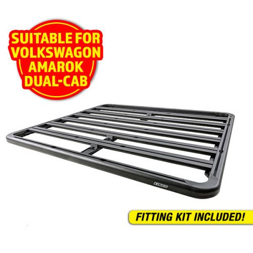 Adventure Kings Aluminium Platform Roof Rack Suitable for VW Amarok Dual-Cab 2011+