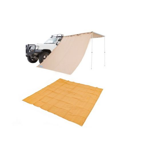 Adventure Kings Awning Side Wall + Mesh Flooring 3m x 3m