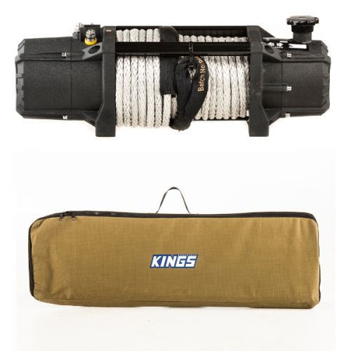 Domin8r Xtreme 12,000lb Winch + Recovery Tracks Canvas Bag
