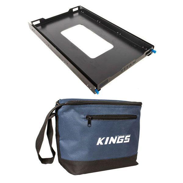 Adventure Kings Titan 100L Fridge Slide + Kings 8L Cooler Bag