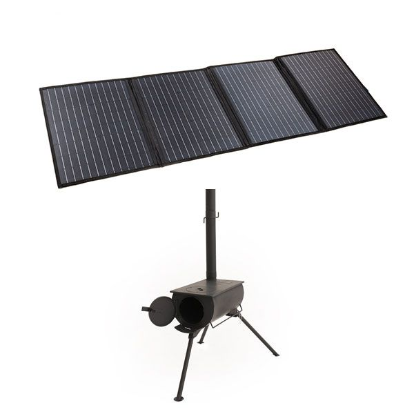 Adventure Kings 120W Portable Solar Blanket + Camp Oven/Stove