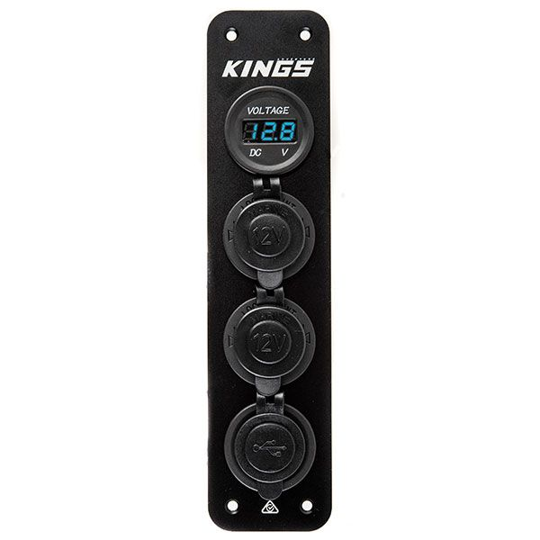 Adventure Kings 12V Accessory Panel