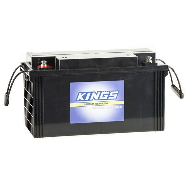 138Ah AGM Deep-Cycle Battery | 5x Faster Recharging | Sealed | Maintenance-Free | Adventure Kings
