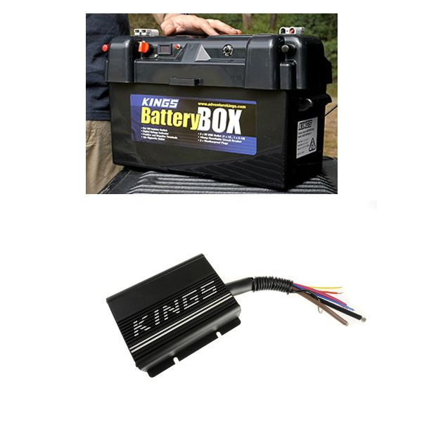 Adventure Kings 138Ah Battery Box + Adventure Kings 20AMP DC-DC Charger