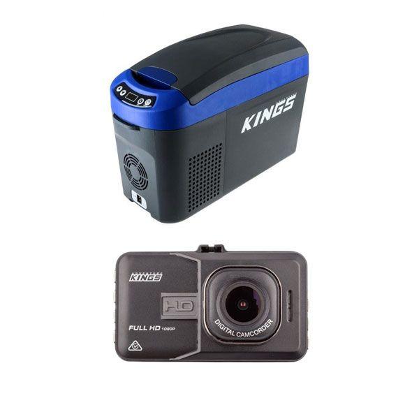15L Centre Console Fridge/Freezer + Dash Camera