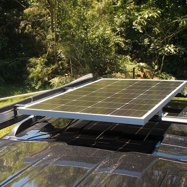 Adventure Kings 160w Fixed Solar Panel