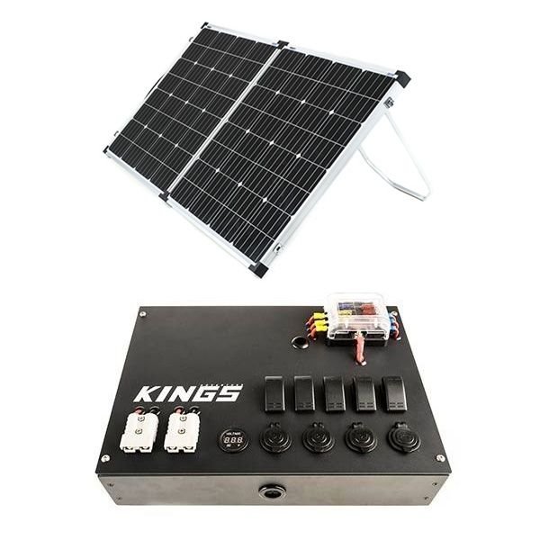 12v Control Box + Adventure Kings 160w Solar Panel