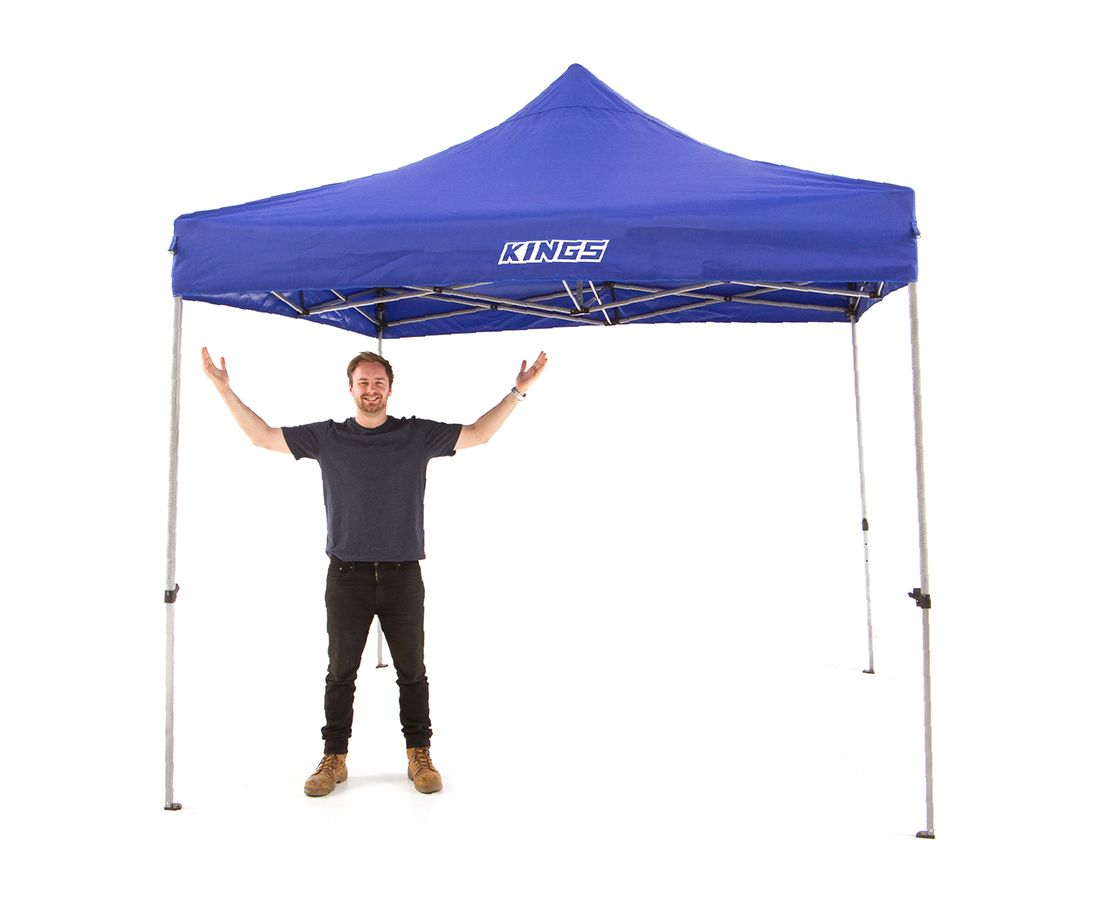 Kings Portable Gazebo 3m x 3m | Heavy Duty Steel Frame | UPF50+ | Waterproof