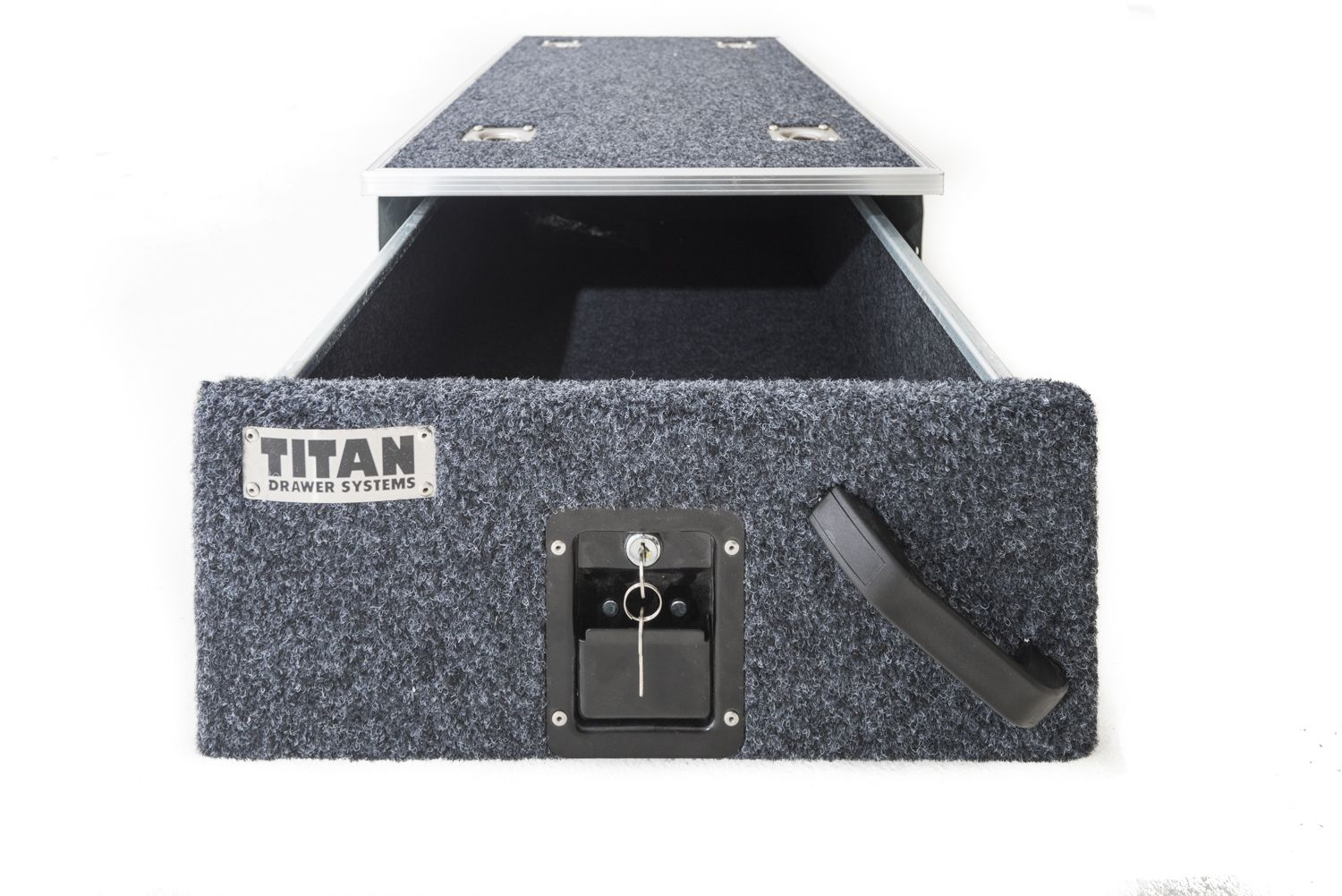 Titan Single Drawer 900mm + Adventure Kings Clear Top Canvas Bag - 4WD Supacentre