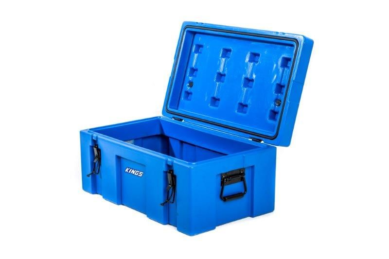 Kings 78L Tough Storage Box | Huge Capacity | Weather Resistant | Strong Handles | Cargo Case | Tools Storage