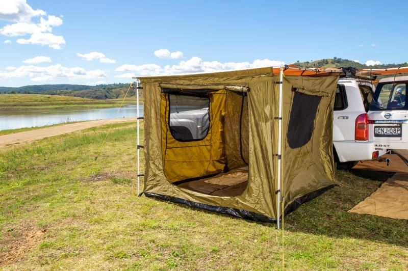 Awning Tent (suits 2m x 3m Awning) | Waterproof | Enclosed floor and roof | Adventure Kings