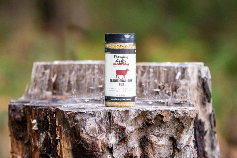 Flaming Coals Traditional Lamb Rub