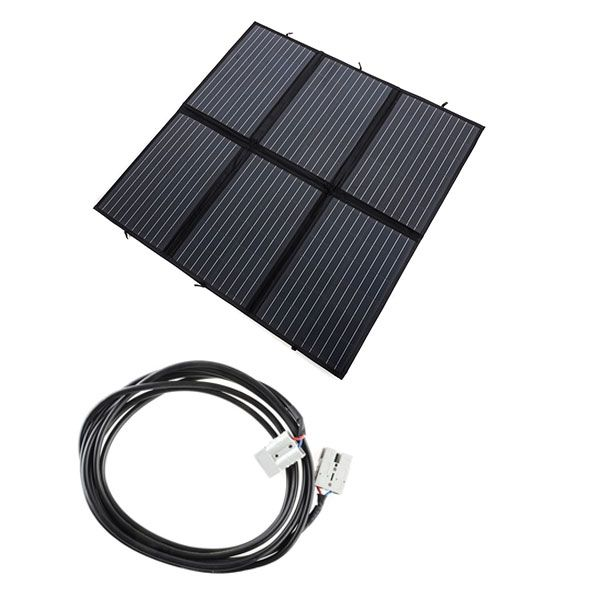 Adventure Kings 200W Solar Blanket with MPPT + 10m Lead For Solar Panel Extension