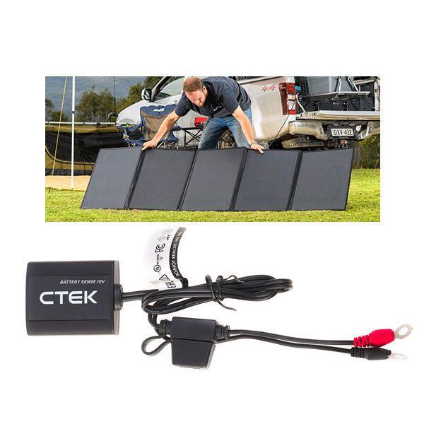 Adventure Kings 250W Solar Blanket + CTEK Battery Sense