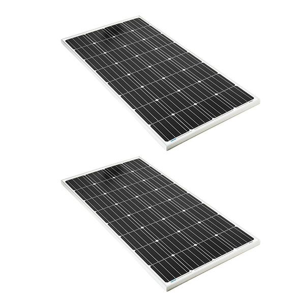 2x Adventure Kings 160w Fixed Solar Panel