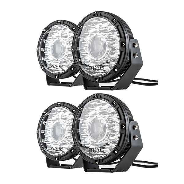 "2x Kings 8.5"" Laser MKII Driving Lights (pair)"