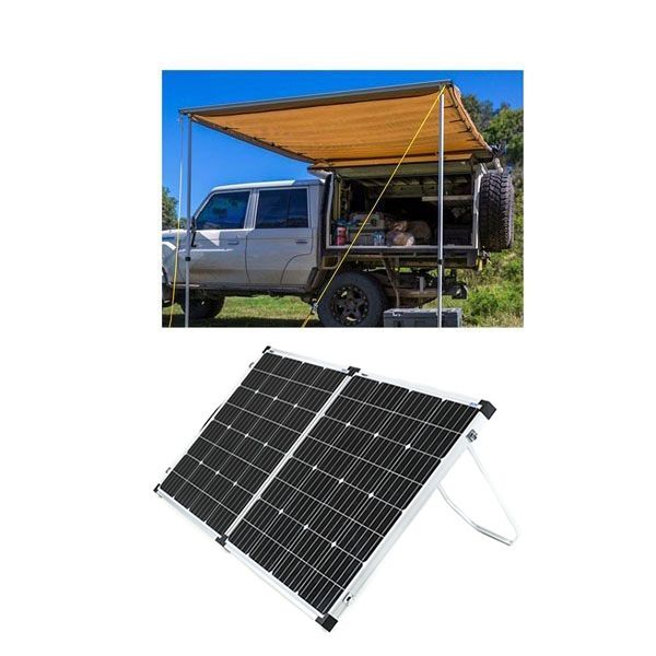 Adventure Kings Awning 2x3m + Adventure Kings 160w Solar Panel