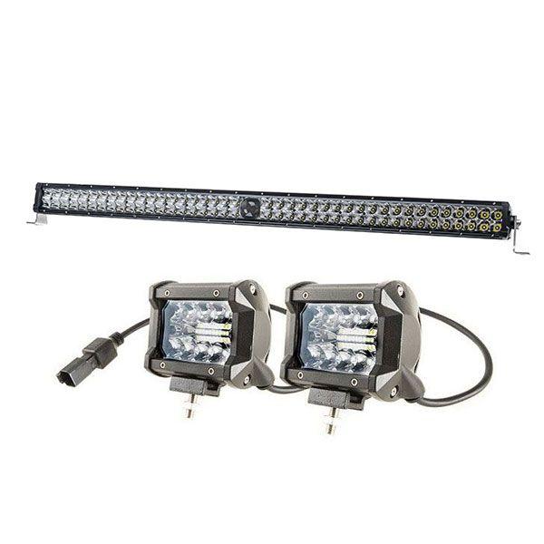 """Kings 30"""" Laser Light Bar + 4"""" LED Light Bar"""