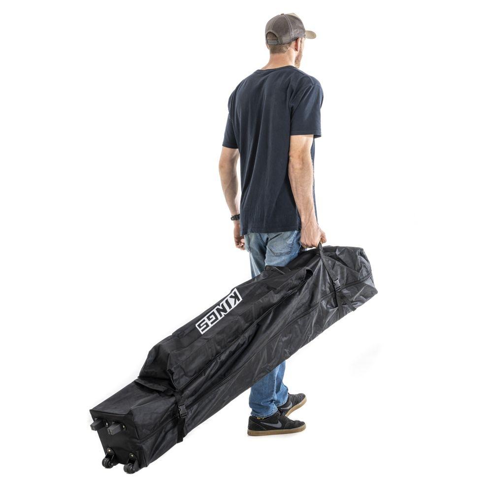 Kings 3x3m Wheeled Gazebo Bag | Tough wheels & reinforced base | Easy one person lift