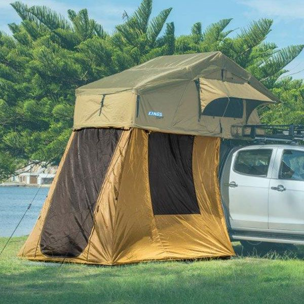 4-man Annex for Roof Top Tent, fully waterproof | incl enclosed floor | Adventure Kings