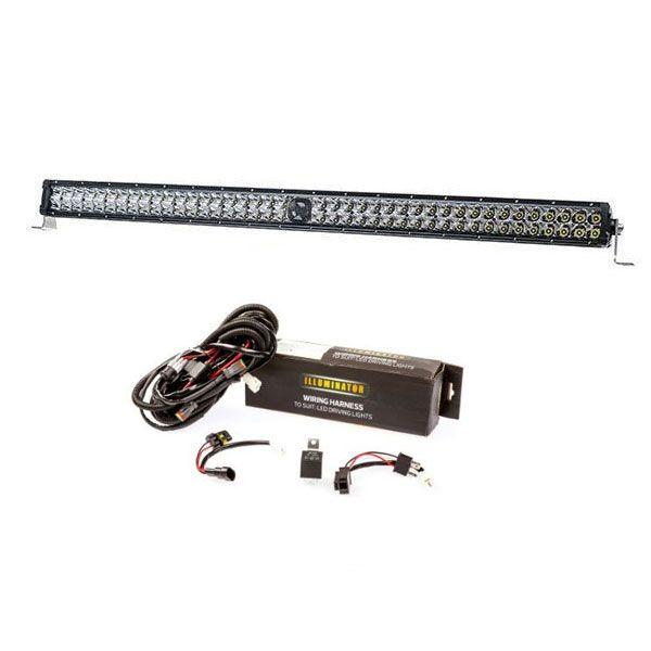 """Kings 40"""" Laser Light Bar + Spotlight Wiring Harness"""