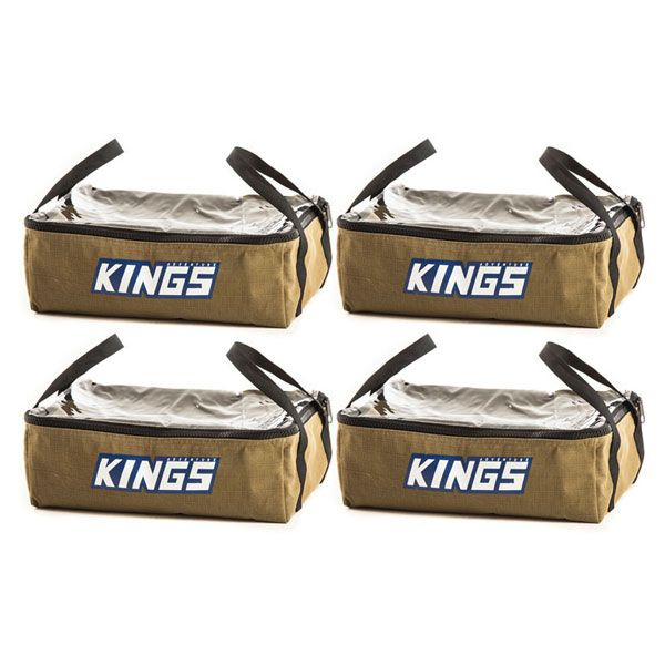 4 x Adventure Kings Clear Top Canvas Bag